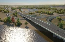 «Сто метров одним пролётом»: в Калининграде построят уникальный мост через Преголю