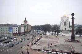 В пятницу в Калининграде перекроют две центральных улицы из-за демонстрации