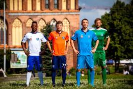 Футбольный клуб «Балтика» представил новую игровую форму