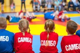 «Самбо в школу»: в Калининграде открыли новый зал для занятий российским единоборством