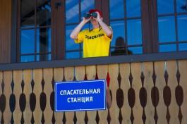 За день в Калининграде спасли двух тонущих подростков