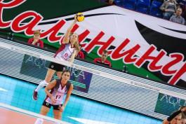 Калининградский «Локомотив» разгромил команду из Словении в волейбольной Лиге чемпионов