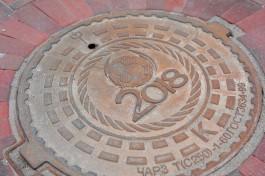 Власти планируют устанавливать в Калининграде «именные» коммунальные люки
