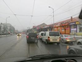У Центрального рынка в Калининграде не работают светофоры