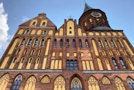 На острове Канта в Калининграде отремонтировали северную башню Кафедрального собора