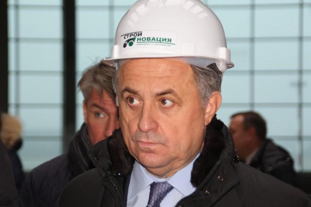 Мутко: Строители стадиона вКалининграде держат превосходный темп, вопросов нет