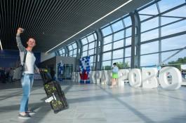«Серьёзные ребята, Wi-Fi и выпечка»: Корытный рассказал о новом терминале «Храброво»