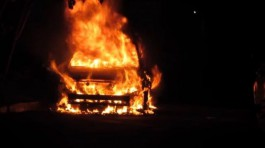 Полиция завела дело по факту возгорания «Ленд Крузеров» в Янтарном