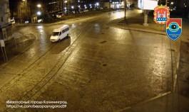Угнанный в Калининграде микроавтобус нашли за час с помощью камер «Безопасного города»