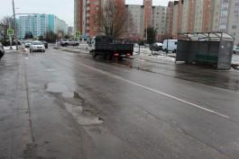 На улице Автомобильной в Калининграде уложат велодорожку из каучука и высадят барбарис