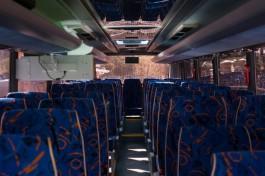 Из-за ремонта улицы Гагарина изменили схему движения автобусов на областных маршрутах