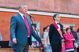 Мэр Калининграда рассказал, как провёл свой Последний звонок