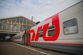 Литва разрешила на три недели увеличить число пассажиров поездов в Калининград до 300