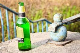 Житель Советска избил прохожего стеклянной бутылкой по голове