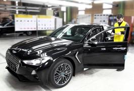 В Калининграде начали выпускать автомобили Genesis G70
