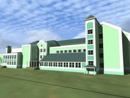 Депутаты Горсовета вернули на доработку проект колористики фасада «мегашколы» на улице Артиллерийской