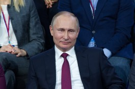 Президент России Владимир Путин заработал за 2017 год 18 млн рублей