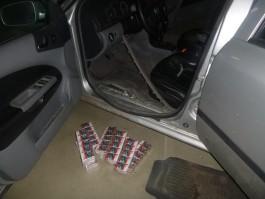 На пропускном пункте Мамоново — Гроново задержали «Шкоду» с 730 пачками сигарет