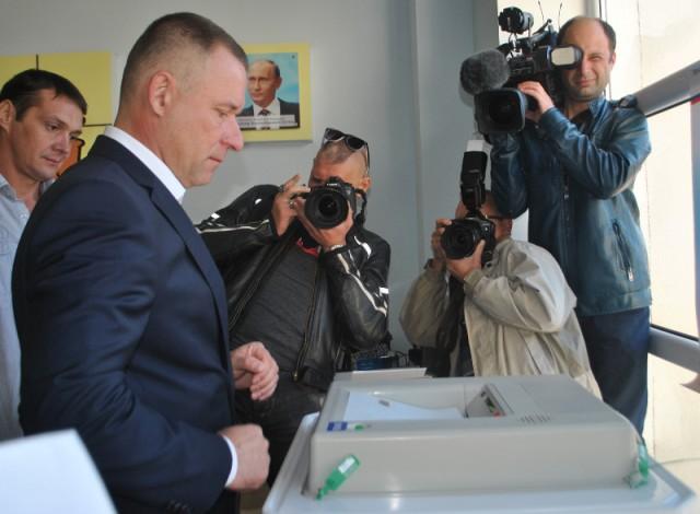 Врио губернатора Калининградской области проголосовали навыборах