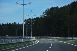В Литве велосипедист ехал по автомагистрали со скоростью 90 км/ч