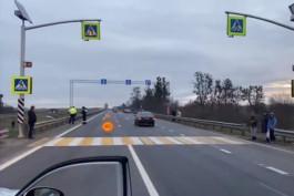 На трассе Калининград — Черняховск «Хёндай» насмерть сбил мужчину на пешеходном переходе