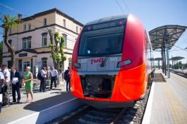 В выходные пустят дополнительные поезда в Светлогорск и Зеленоградск