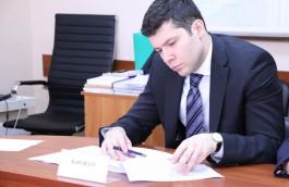Алиханов подал документы на участие в выборах губернатора Калининградской области