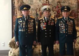 Калининградские ветераны приняли участие в параде Победы в Москве
