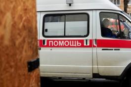 На Московском проспекте в Калининграде мужчина упал из окна на крышу кафе