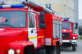 При пожаре на улице Артиллерийской в Калининграде пострадал человек
