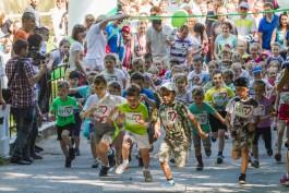 «Зелёный марафон»: как в Калининграде прошёл спортивный праздник от Сбербанка