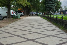 Ремонт всех тротуаров Калининграда оценили в 2,5 млрд рублей