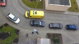 Возле подъезда дома на улице Аксакова в Калининграде обнаружили труп мужчины