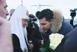 Патриарх Кирилл прибыл в Калининградскую область