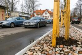 Власти Зеленоградска предупредили о пробках на праздниках из-за ремонта улицы Окружной