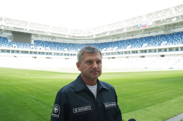 Игорь Маковский: «Энергетики готовы к основному футбольному празднику»
