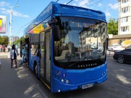 «Тот же троллейбус»: в «Калининград-ГорТрансе» поделились первыми результатами теста электробуса