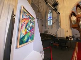 «Кандинский, Кандинский и не только»: в Кафедральном соборе Калининграда открывается Выставка одной картины