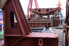 «Минтай, палтус, иваси»: на «Янтаре» заложили второй траулер для камчатских рыбаков