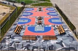 На территории стадиона «Калининград» обустроили баскетбольный центр