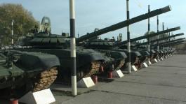 В Калининградскую область поступило 30 модернизированных танков для Балтфлота