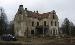 В Озёрском округе обрушилась часть немецкой усадьбы Заукенхоф