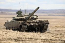 В Калининградскую область поступило 23 модернизированных танка для Балтфлота