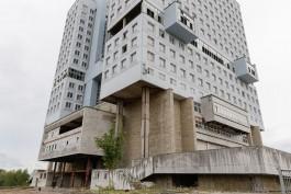 «Городская икона»: Антон Сагаль предложил сохранить Дом Советов в виде монумента с общественными пространствами