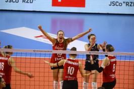 Калининградский «Локомотив» проиграл в первом туре волейбольной Лиги чемпионов