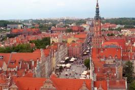 Гданьск вошёл в тройку самых интересных туристических направлений Европы
