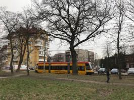 В Калининграде трамвай PESA вернулся на линию после техобслуживания