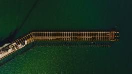 Власти: Строительство порта в Пионерском отстаёт от графика из-за шторма и нерасторопности подрядчика