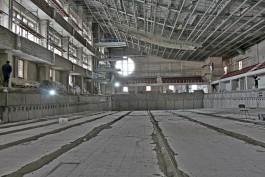 Бассейн в СК «Юность» в Калининграде капитально ремонтируют впервые с 1990 года