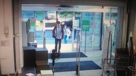 Калининградские полицейские разыскивают подозреваемого в краже из магазина на улице Яналова